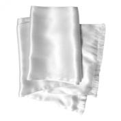 Royal Silk® Aviator Scarf - OFF-WHITE - Soft, Sleek, Stylish, Genuine Satin Silk