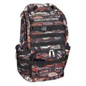 Harley-Davidson Night Ops Stellar Backpack, Black 99214-VINTAGE
