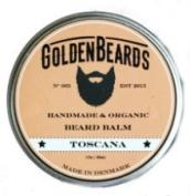 Organic Beard Balm -Toscana - 30ml *Golden Beards* | 100% Natural | Jojoba & Argan & Apricot Oil