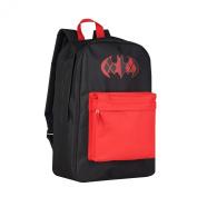 Harley Quinn DC Comics Men's Distressed Screen Print Front Pocket Backpack Bag