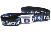 Doctor Who Trust Me I'm The Doctor Navy Seatbelt Style Belt