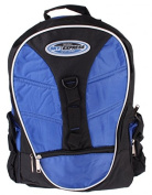 Rucksack 36 Litres Sky Express 5 Pockets and Patch Band Multicolour blue / black
