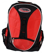 Rucksack 36 Litres Sky Express 5 Pockets and Patch Band Multicolour red / black