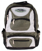Rucksack 36 Litres Sky Express with 7 Pockets Multicolour green / black