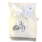 Elli & Raff. Super Soft Microfleece Snuggle Blanket [Kitchen & Home]
