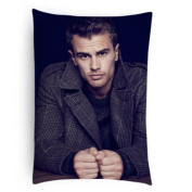 Green-Store Custom Home Decorative Theo James Pattern Pillowcase Pillow Case Cover 20*30 Two Sides Print