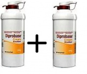 2 x Diprobase Cream 500g pump