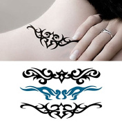 Body Art Temporary Removable Tattoo Stickers Brambles Sticker Tattoo - FashionLife