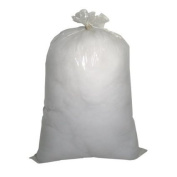 0.9kg. Bag 100% Soft Polyester Craft Fibre Refill for Pillows, Stuff Toys, Quilts, Paddings, Pouffe