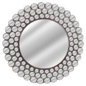 Benzara HRT-25796 Mini Circle Frames Wall Mirror