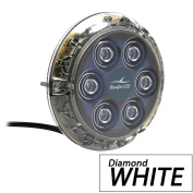 Bluefin Led Piranha P6 Nitro White Sm Underwater Light 24V