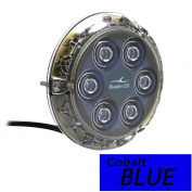 Bluefin LED Piranha P6 Nitro SM Underwater Light 12V - Cobalt Blue