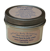 ORGANIC BODY ESSENTIALS Extreme Hand & Body Cream, Lavender, 120ml