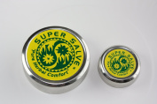 Super Salve Co. All Purpose Salve (Bundle of Two Tins) Includes 120ml Tin and .150ml Travel Tin with Chapparral Leaf, Comfrey Leaf, Ecinacea Flower, Hops Flower and Usnea Moss