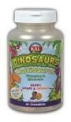 MultiSaurus Berry, Grape & Orange Kal 60 Chewable by Kal