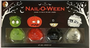 BONITA NAIL-O-WEEN - INCLUDES TWO GLOW IN THE DARK POLISHES AND STICKERS by Bonita