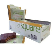 Squarebar BG18430 Squarebar Chocolate Cvr Almond Br - 12x50ml by Squarebar