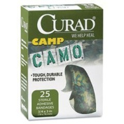 Curad Camoflauge Brown Ahesive Bandages 25 ea by Curad