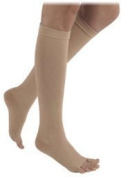 Sigvaris Natural Rubber 503WS3O77-R 30-40 Mm.Hg Full Short S3 Thigh High With Waist Attachment, Beige by Sigvaris
