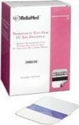 6cm X 7cm Transparent Thin Film Adh Dressing by ReliaMed Hydrocolloid & Foam