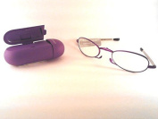 Foster Grant Gwendolyn Reading Glasses 1.50 2.00 2.50 Compact Folding (2.00, Purple) by Foster Grant