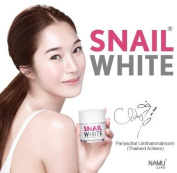 Snail White Best Anti Ageing Wrinkle Cream for Face Korean Food for Skin by Korea