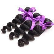 Virgin Loose Wave Hair Remy Peruvian Human Hair Extensions 3pcs Mixed 20 22 24 Unprocessed Natural Hair Weft