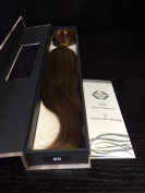 Clip On Remy Human Hair Extensions 46cm length #6