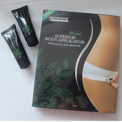 5 Slimming Body Wrap Applicator Patch + 2 FREE Body Defining Gel (15ml) - it works to Tone Firm Detox and Hydrate