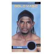 Gold Magic Durag - Black 80029