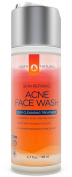 InstaNatural Acne Face Wash - With Salicylic Acid & Vitamin E - Best Cleanser for Smooth Complexion on Face & Body - Clears Blackheads, Breakouts, Pimples & Other Blemishes - For Men & Women - 200ml