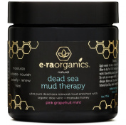 Dead Sea Mud Mask with Organic Aloe Vera, Shea Butter, Manuka Honey & Hemp Oil (180ml) Spa Quality Face Mask to Cleanse & Minimise Pores, Moisturise, Detoxify & Exfoliate