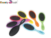Candy Brush 2016 Fashion Women Wet Styler Purple Professional Detangling Tangle Shower Hair Brush Teezer Hairbrushes Combs Woman