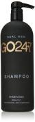 GO247 Real Men Shampoo, 33.8 Fluid Ounce