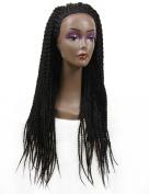 Golden Rule Senegal Twist Braided Lace Wig
