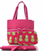 pineapple quilted nappy bag