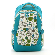Nappy Bag Floral Mommy Nappies Backpack Large Capacity for Travel