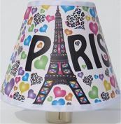 Paris Night Light / Eiffel Tower Night Light Nursery Decor