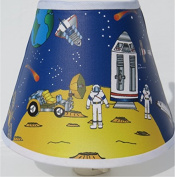 Outer Space Night Light / Children's Nursery Decor