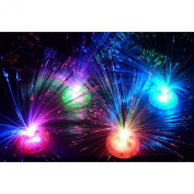 MMRM Romantic LED Colour Changing Fibre Optic Night Light Lamp for Festival Party Decoration