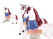 Painted Resin Unicorn Shade Nigh Light - By Ganz