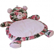 Mary Meyer Bear Baby Mat, Camo/Pink