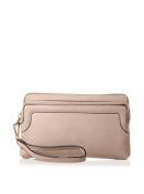 SOCIETY NEW YORK Women's Zip Wristlet, Sand
