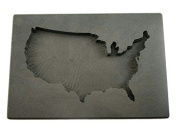 Custom USA Gold Bar 590ml High Density Graphite Mould Silver 440ml Copper U.S.A.