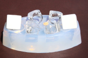 BIG Multi-Clear-silicone Ring Moulds 6 ps+1 rose mix size.
