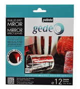 Gedeo Mirror Effect Gilding Foil Leaves 12 Pack