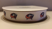 Columbus Hockey Grosgrain Ribbon