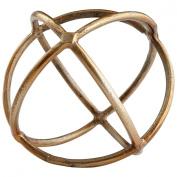 CYAN DESIGN 08167 Lg Jacks In Orbit Filler, Gold