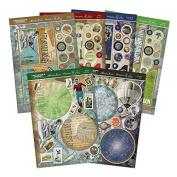 Hunkydory Gentlemen's Journey Rotator Premium Card Kit - Makes 4