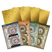 Hunkydory Gentlemen's Journey Globe Spinner Premium Card Kit - Makes 4